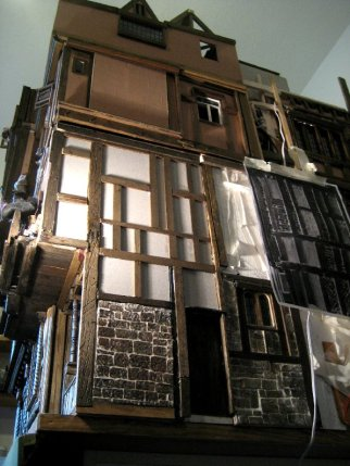 theinfill Medieval, Tudor, Jacobean 1:12 dolls house blog - full height of house on this side