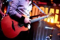 Alexei's guitar (EP Launch Party 13th April 2013)