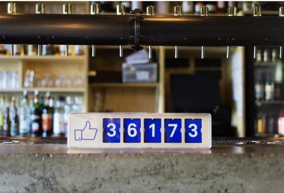 Facebook Like Counter