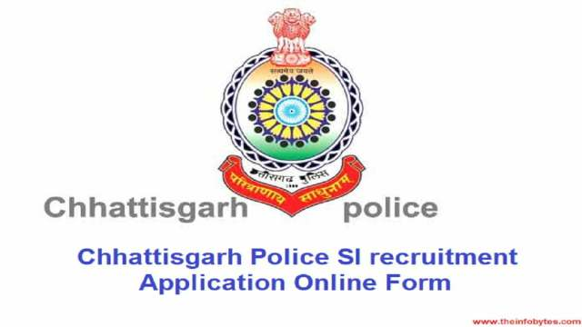 How to fill Chhattisgarh Police Application Form 2021 Online