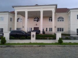Genevieve's Ikoyi mansion