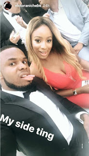 Image result for Image of DJ cuppy and her Football love