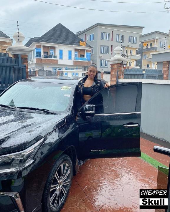 Actress Mimi Orjiekwe SUV