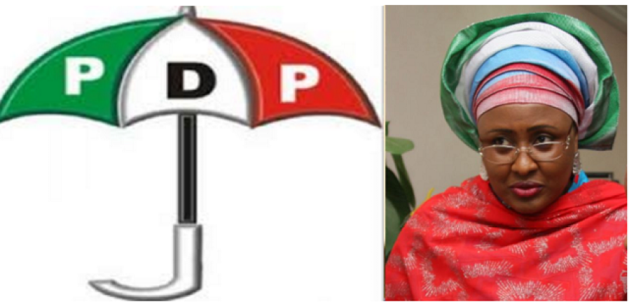 AISHA BUHARI TO BE WELCOMED TO PDP AFTER PARTY PLANS TO GIVE HER MEMBERSHIP CARD (MUST READ)
