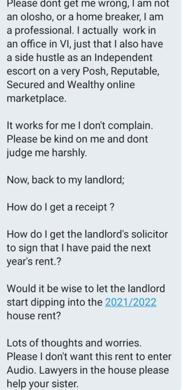 'My landlord deducts N90k from my rent anytime he sleeps with me' - Lekki slay queen
