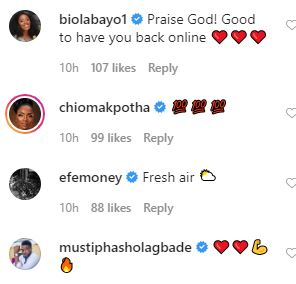 Naira Marley, Falz, Chioma Apotha and other Nigerian celebrities react as Funke Akindele returns to Social Media after NCDC saga by Frost  April 17, 2020 in Entertainment 4