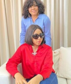 Regina Daniels' mother finally reacts to viral reports of her threatening Chika Ike -See What she has to say (Video)