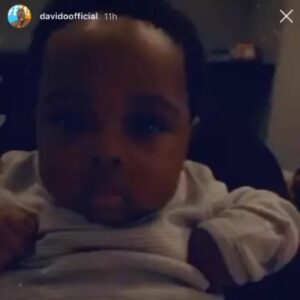"""""""He Looks Like Chioma"""" – Fans React As Davido Finally Reveals The Face Of His Son (PHOTOS)"""