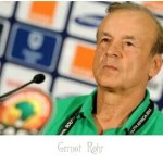 Nigeria's senior national team coach Gernot Rohr speaks about victory over Zambia