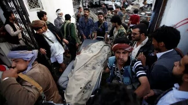 A funeral was being held at a hall in Sanaa when the blasts took place. At least 140 people were killed and more than 500 wounded in several air s