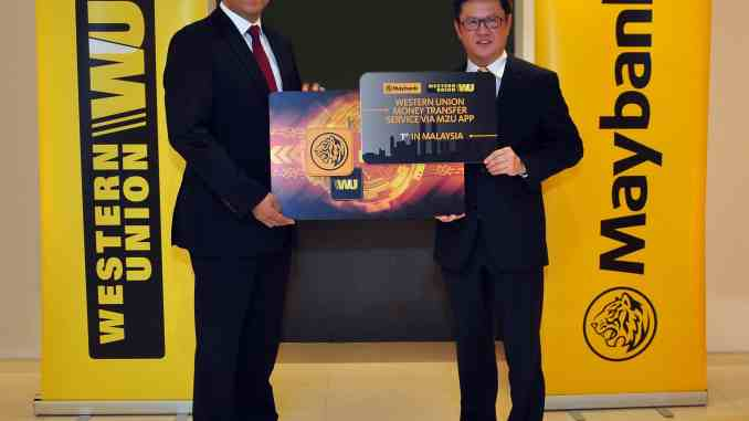 Malaysia Maybank western union Digital Money Transfer
