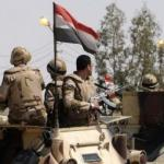 Egyptian army kills 14 militants in central Sinai raid