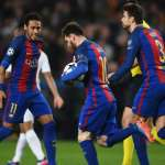 Barcelona vs PSG UEFA Champions League Score, update