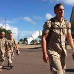 U.S. Marines arrive in Darwin for Australia, China exercises