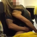 Man Filmed Romping On Flight Had Pregnant Fiancee At Home (Video)