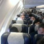 Couple Caught Doing Disturbing Thing On Plane (Video)