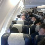 Couple Caught Doing Disturbing Thing On Plane (Video)
