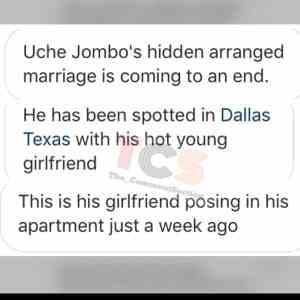 Uche Jombo's husband Kenney Rodriguez cheating