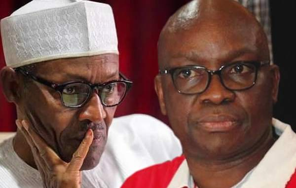 fayose to expose Buhari's sick pictures