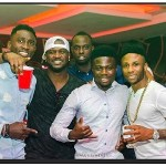 Peter Okoye, Wilfred Ndidi & Moses Simon Club Together