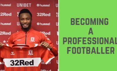 Professional Footballer in Nigeria