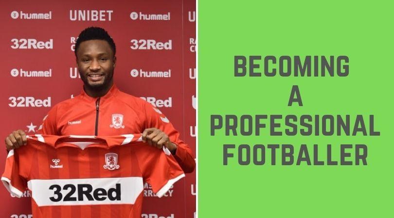 Footballer in Nigeria