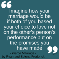 Promises Made Quote from FIERCE MARRIAGE