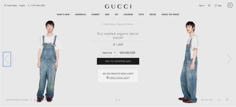 Gucci sells jeans for rs. 88,000 with dirty stains on it