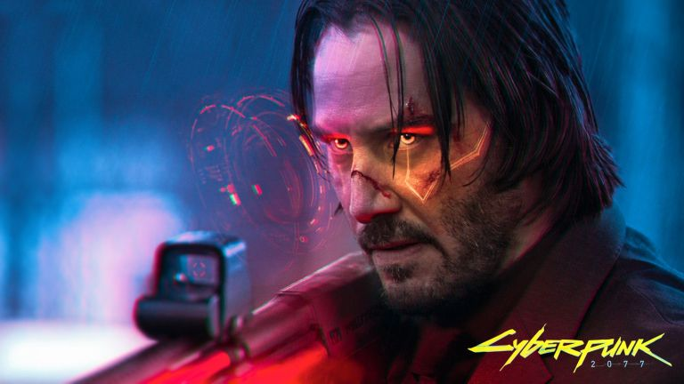 Keanu Reeves plays Silverhand in Cyberpunk and Gamers are going crazy over the character