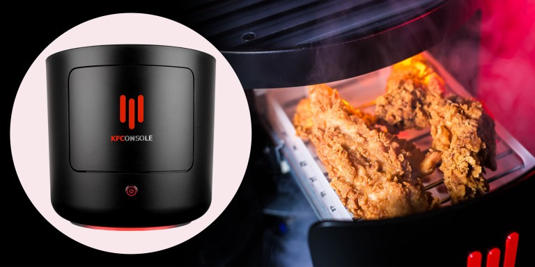 KFC HAS LAUNCHED ITS OWN GAMING CONSOLE WITH BUILT-IN CHICKEN WARMER