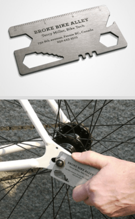 Bike Multi-Tool Business Card