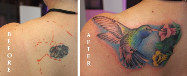 hummingbird cover up