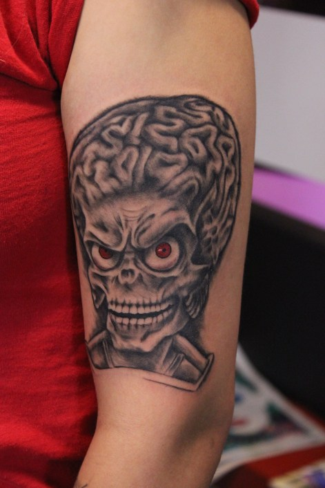 Mars Attacks by Delan