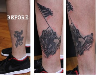 Iwo Jima cover up