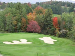 Golfing in Dover Vermont