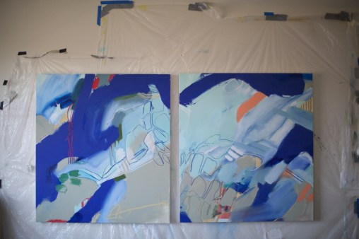 The Paradox of Rest and Run (studio view) - 2014