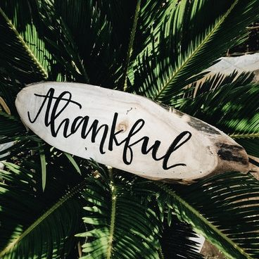 thankful rock Happiness researcher Shawn Achor shares 5 non-time-consuming habits