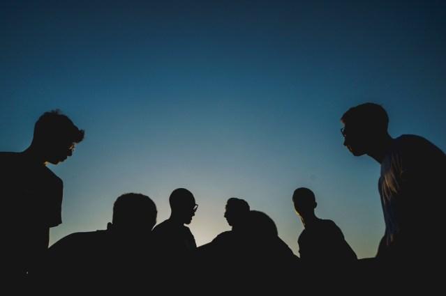 People in silhouette - Papaioannou Kostas