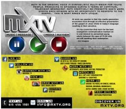 MXTV FRONT BACK CARD