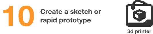 create a rapid prototype