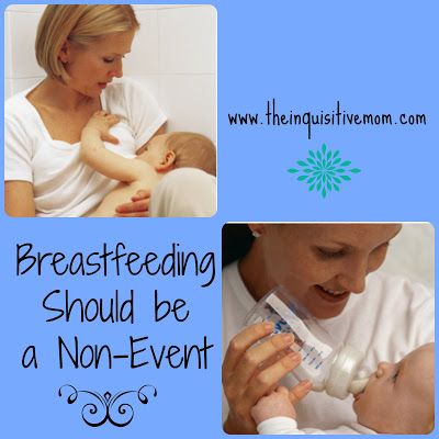 Breastfeeding Should be a Non-Event - The Inquisitive Mom