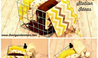 Simple, Portable Diaper Changing Station Ideas
