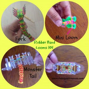 Rubber Band Looms 101 Loom Examples