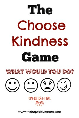 The Choose Kindness Game Cover - The Inquisitive Mom