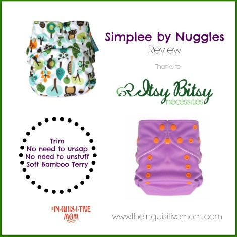 Simplee Review thanks to Itsy Bitsy Necessities #4thTimeBabyShower