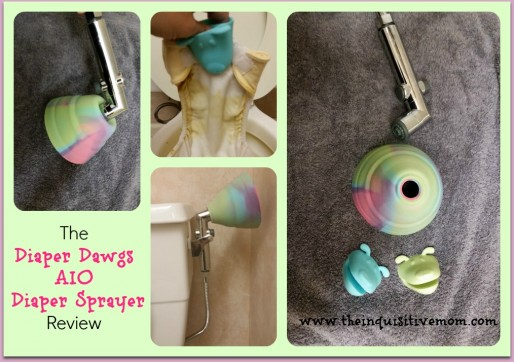 The Diaper Dawgs AIO Diaper Sprayer Review #4thTimeBabyShower