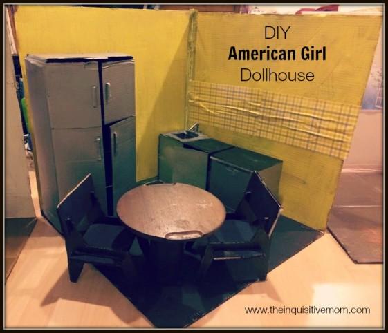 DIY American Girl Kitchen