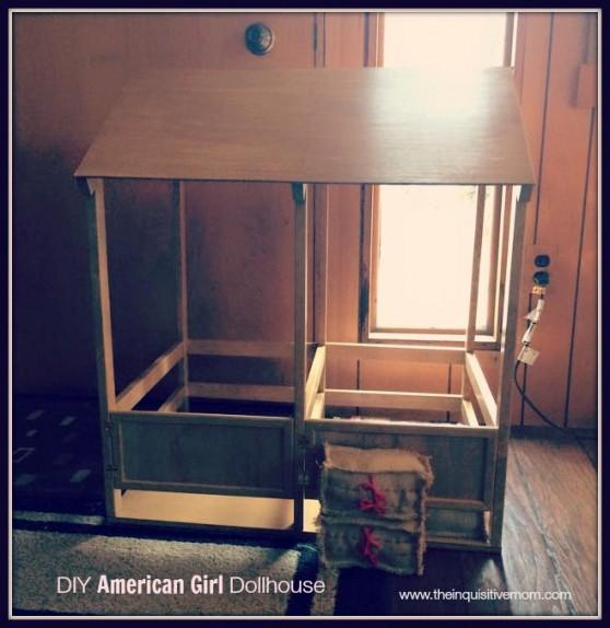 DIY American Girl Stable
