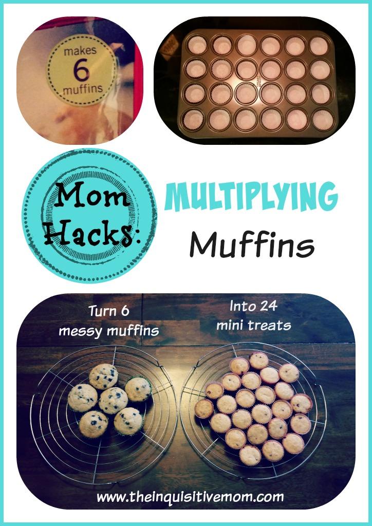 Mom Hacks Multiplying Muffins Visual