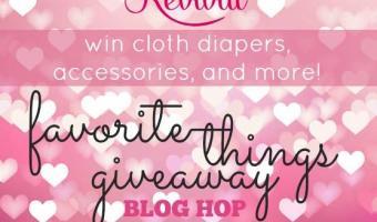 TushMate Cloth Diaper Giveaway Favorite Things Blog Hop